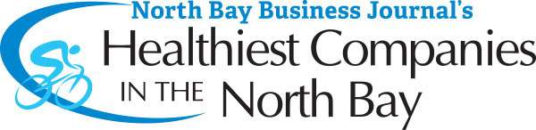 North Bay Business Journal's Healthiest Companies in the North Bay, 2017 Award